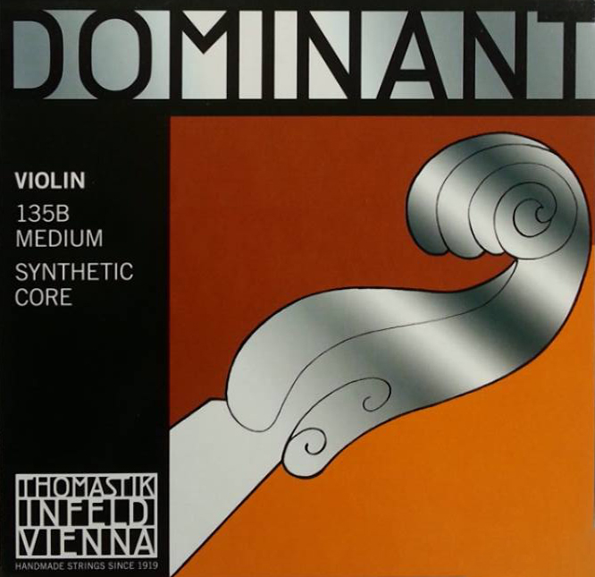 【非凡樂器】THOMASTIK DOMINANT 135B 小提琴弦 (medium) 4/4全琴尺寸