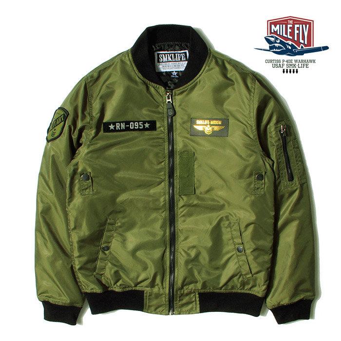 MILE FLY US FORCE MA-1 JACKET- 轟炸機 空軍 炸彈 飛行夾克