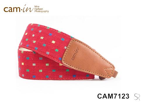 【Cam.in】潮流相機背帶 牛仔系列背帶 型號:CAM7123 (A5001) 牛仔系列 顏色:紅色