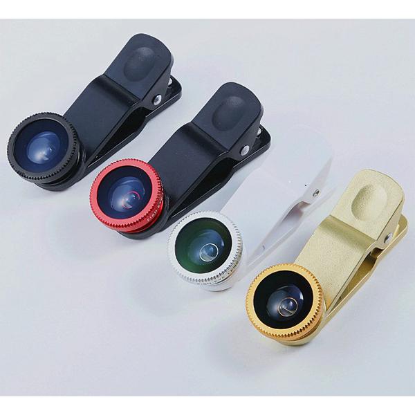 三合一 萬用夾子 魚眼鏡頭 微距鏡頭 自拍廣角 iPhone5 5S HTC SONY 三星 小米 華碩
