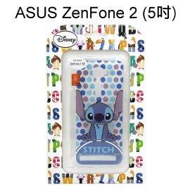 迪士尼透明軟殼 [新點點] 史迪奇 ASUS ZenFone 2 ZE500CL Z00D (5吋)【Disney正版授權】