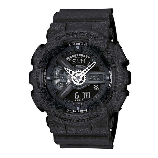 CASIO G-SHOCK GA-110HT-1A石灰紋流行腕錶/51mm