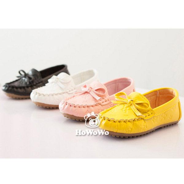 寶寶鞋 人造PU蝴蝶結學步鞋/公主鞋 (15.5-18cm) FK825