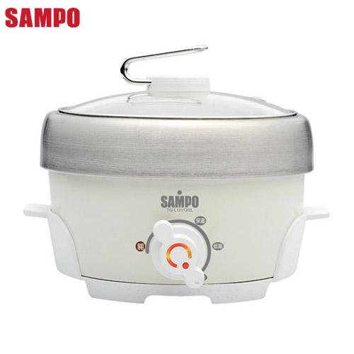 【SAMPO聲寶】不鏽鋼電火鍋 TQ-L12112GL
