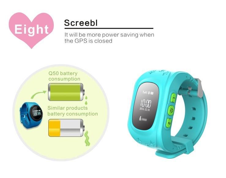 2018 Q50 Kids smart watch GPS tracker GPS Watch – TabTab Malaysia Online Shopping Mall