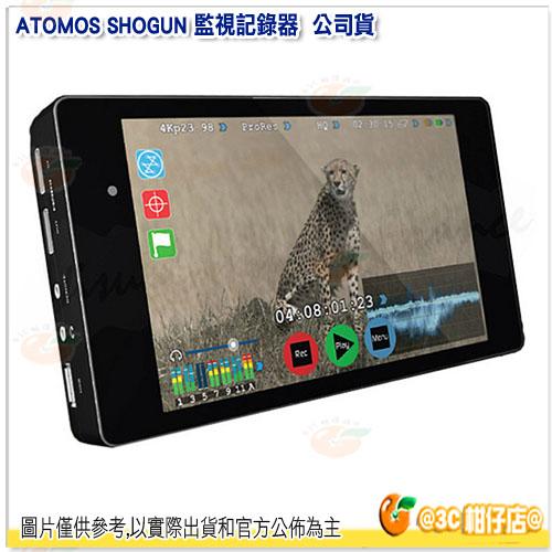 申請領回饋金 尾牙 禮物 可分期 澳洲 ATOMOS SHOGUN 幕府將軍 監視記錄器 公司貨 4K 7吋 高畫質 機上監視器 外接式監看螢幕