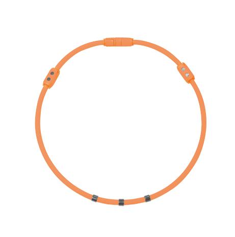 Colantotte直營網路專櫃 WACLE NECK Ge+ 磁石/鈦鍺(TG稀有金屬)項圈/橘色