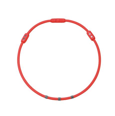 Colantotte直營網路專櫃 WACLE NECK Ge+ 磁石/鈦鍺(TG稀有金屬)項圈/紅色