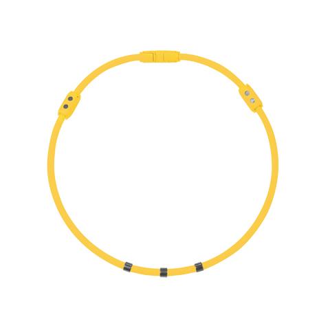 Colantotte直營網路專櫃 WACLE NECK Ge+ 磁石/鈦鍺(TG稀有金屬)項圈/黃色