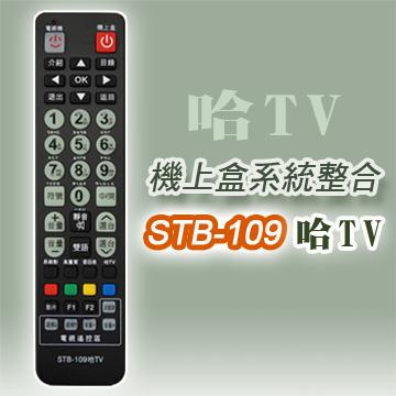 【遙控天王】STB-109哈TV第四台有線電視數位機上盒專用遙控器(適用:哈TV寬頻)**本售價為單支價格**
