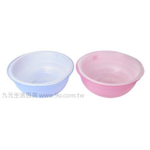 【九元生活百貨】雙層盆-大 洗菜籃 瀝水籃