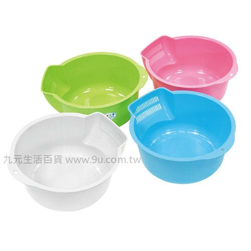 【九元生活百貨】佳斯捷 7946 豆豆魚洗米盆 洗米瀝水
