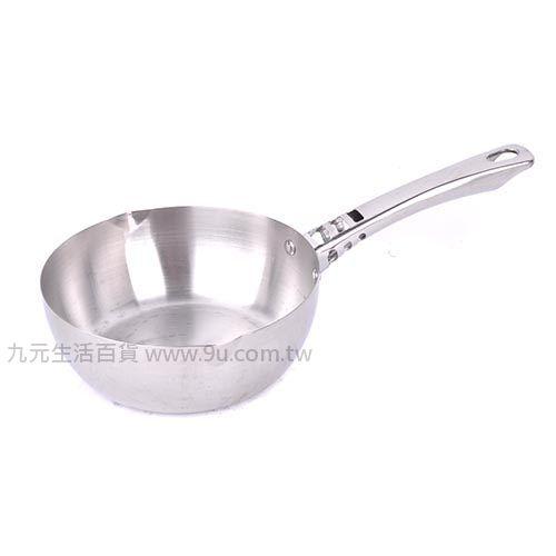 【九元生活百貨】御膳坊20cm全鋼斷熱雪平鍋 #304不鏽鋼 牛奶鍋 單柄鍋