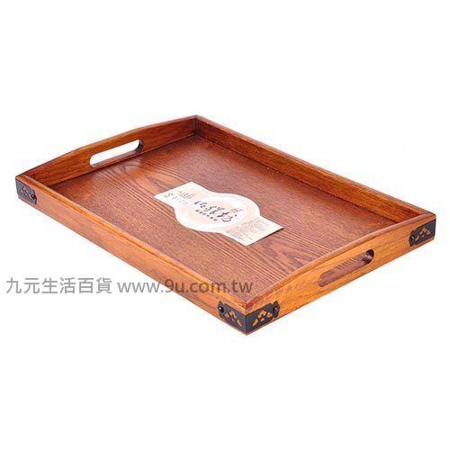【九元生活百貨】御膳坊古典型原木托盤-小 托盤