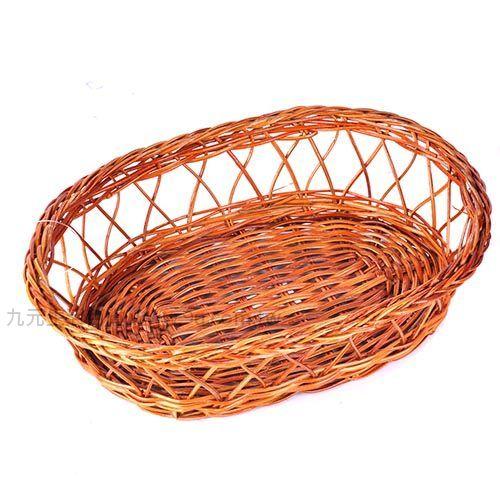 【九元生活百貨】御膳坊橢圓竹編麵包籃 麵包籃 置物籃