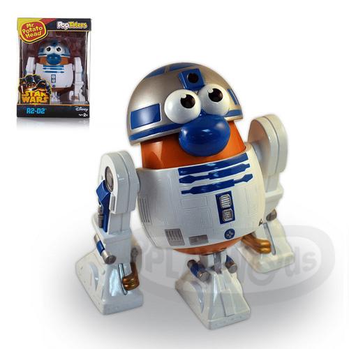 【Playwoods】[兒樂寶PLAYSKOOL] PPW蛋頭組:星際大戰機器人 R2D2 Mr. Potato Head - R2D2 (玩具總動員/孩之寶Hasbro/皮克斯/星球大戰/科幻/宇宙戰爭/Disney迪士尼/電影版/原力覺醒/反抗軍起義/天行者路克/機器人)