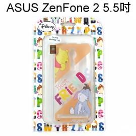 迪士尼透明軟殼 ASUS ZenFone 2 ZE550ML ZE551ML Z00AD Z008D [最佳拍檔] 維尼&伊兒【Disney正版授權】