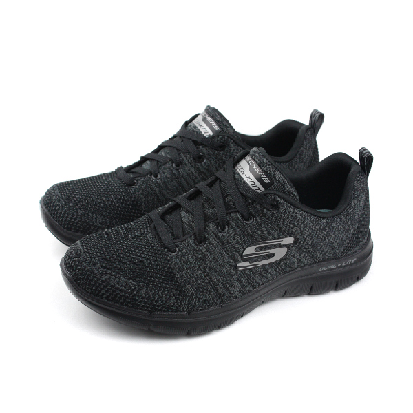 SKECHERS 運動鞋 女鞋 黑色 no474