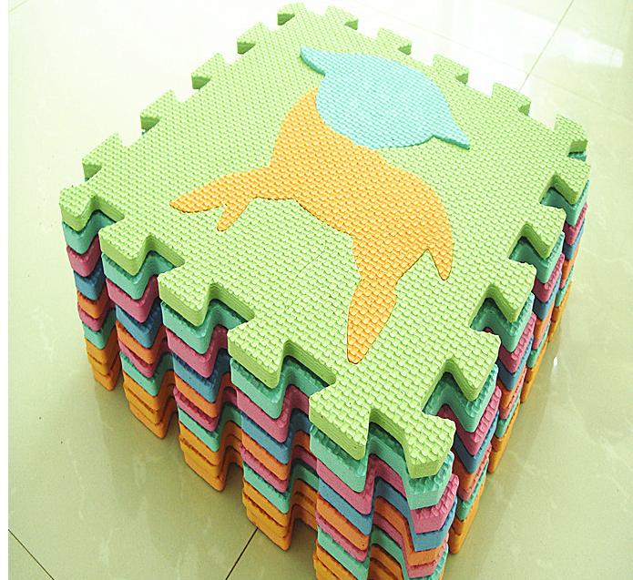 拼圖地墊寶寶爬行墊遊戲墊地板eva兒童泡沫墊拼圖