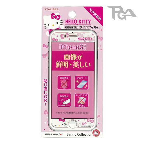 【真愛日本】16042200011I6螢幕保護貼-KT粉    三麗鷗 Hello Kitty 凱蒂貓  保護膜  螢幕貼 正品