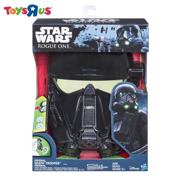 玩具反斗城    STAR WARS 星際大戰俠盜系列-電子面具