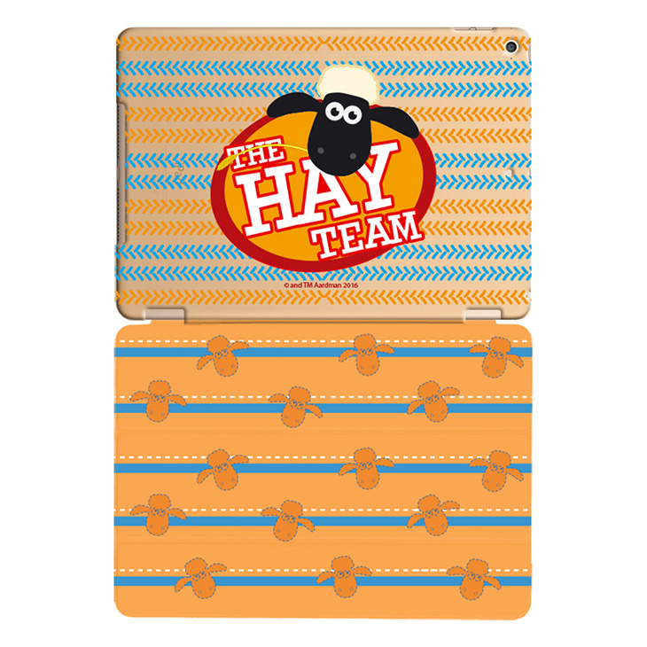 笑笑羊正版授權(Shaun The Sheep) -【 The HAY Team 】:《 iPad Mini/Air/Pro 》水晶殼+Smart Cover(磁桿)