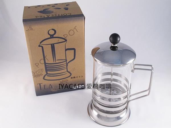 《愛鴨咖啡》FH-420-600 一屋窯 耐熱玻璃 法式濾壓壺 600ml
