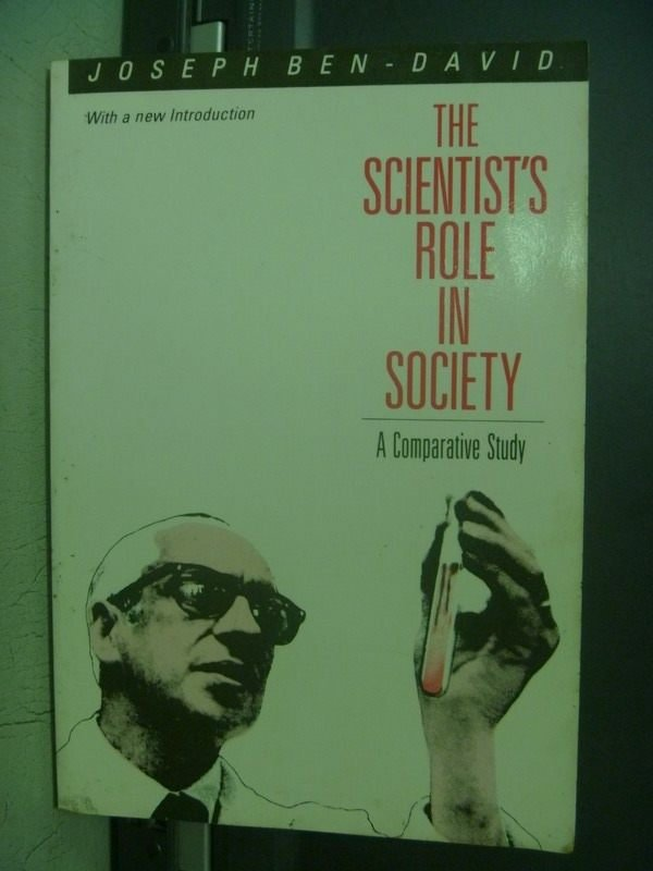 【書寶二手書T3/社會_OBM】The Scientists Role in Society_Joseph Ben