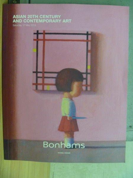 【書寶二手書T2/收藏_XCN】Bonhams_2014/5/17_Asian 20th Century and…