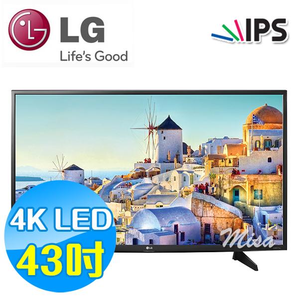 LG樂金 43吋 4K LED Smart 液晶電視 43UH610T