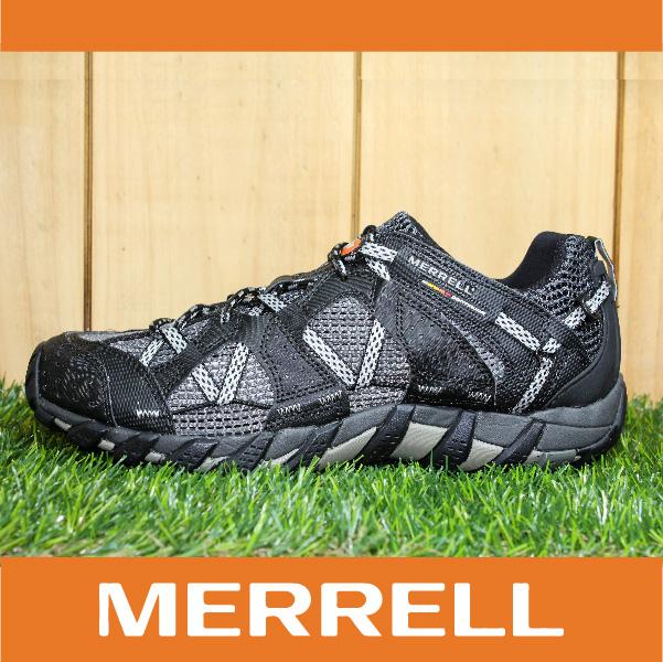 萬特戶外運動 MERRELL WATERPRO MAIPO 水陸兩用鞋 男款 低筒健行鞋 快乾透氣 黑色