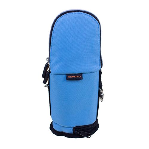 【KOKUYO】  critz多功能直立式筆袋-小(水藍色) PC008-LB