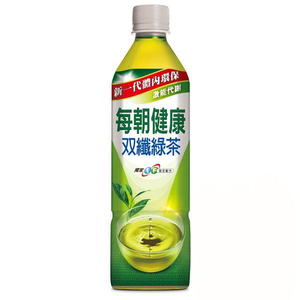每朝健康雙纖綠茶 650ml(24入/箱)【合迷雅好物商城】