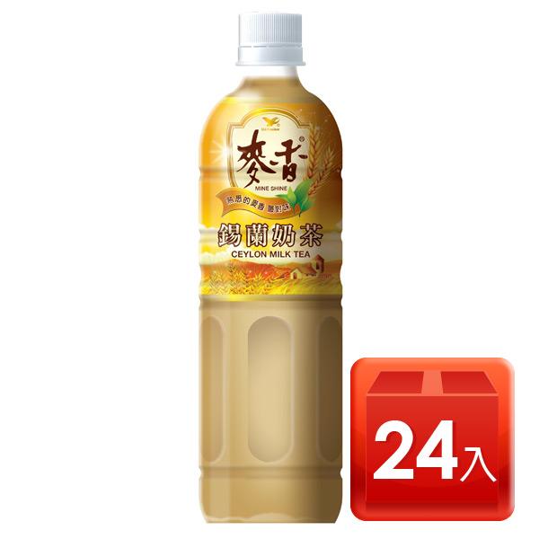 麥香嚴選錫蘭奶茶600ml-1箱(24入)【合迷雅好物商城】