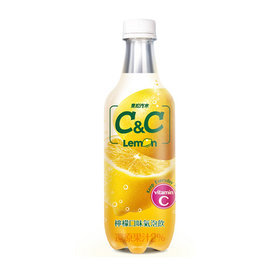 黑松汽水 C&C 檸檬氣泡飲料500ml-3瓶【合迷雅好物商城】