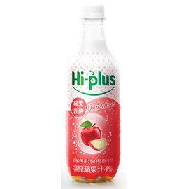 黑松Hi-Plus蘋果乳酸氣泡飲500ml-1箱(24瓶)【合迷雅好物商城】