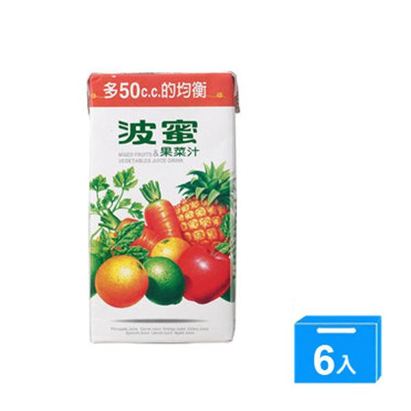波蜜果菜汁300ml-1組(6入)【合迷雅好物商城】