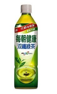 每朝健康雙纖綠茶 650ml/單瓶【合迷雅好物商城】