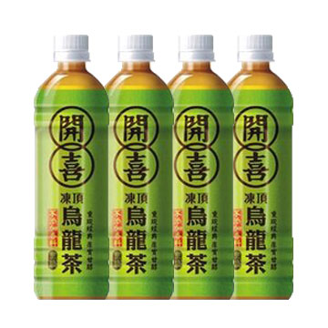 開喜凍頂烏龍茶-無糖 575ml-1組(4瓶)【合迷雅好物商城】
