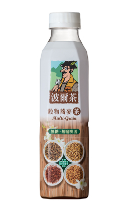 ●波爾茶 穀物蕎麥茶580ml(4罐/組)【合迷雅好物商城】