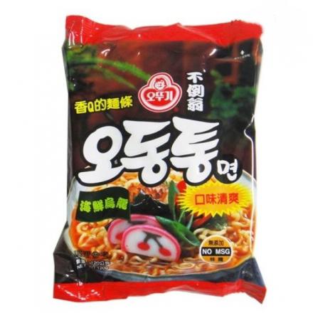 韓國OTTOGI不倒翁海鮮烏龍拉麵120g/單包【合迷雅好物商城】
