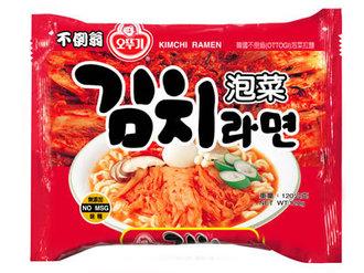 韓國OTTOGI不倒翁泡菜拉麵120g/單包【合迷雅好物商城】