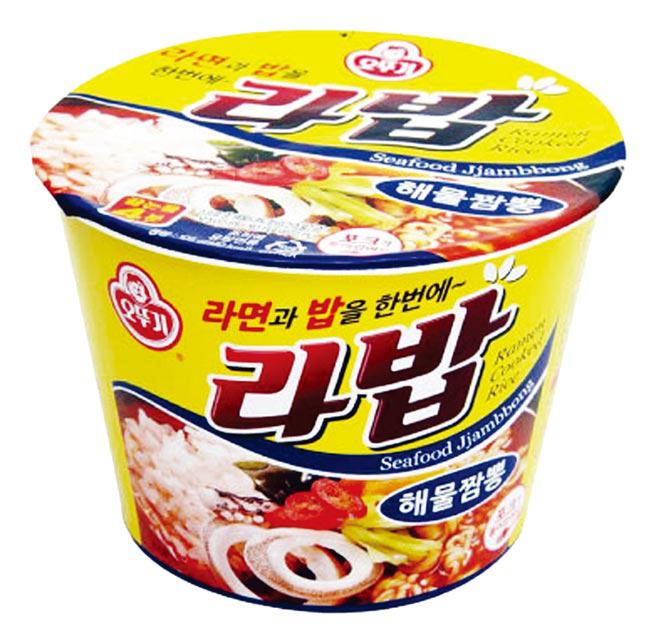 韓國不倒翁韓式泡飯湯麵-香辣海鮮風味105g【合迷雅好物商城】