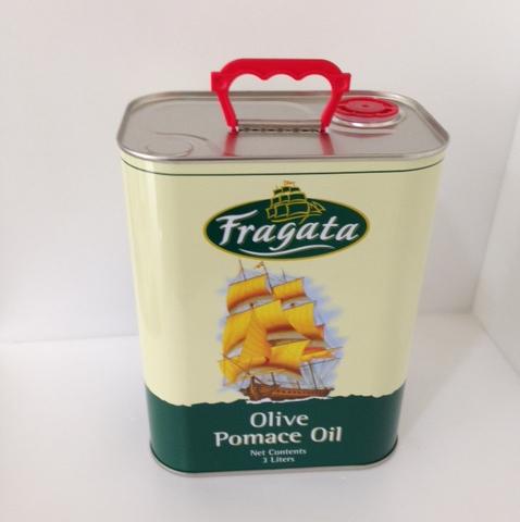 【都易特】原裝橄欖油 3000 ml  進口 Fragata 帆船牌 精製 皂用 手工皂 基礎油 原料