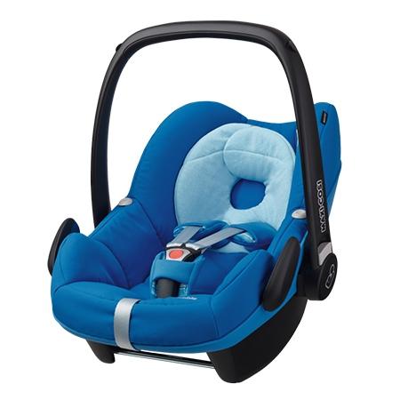 *babygo*Maxi Cosi Pebble提籃汽車安全座椅【Watercolor Blue】