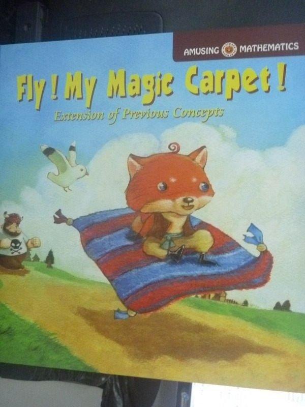 【書寶二手書T6/繪本_QJO】Fly!My Magic Carpet!_G.O.B