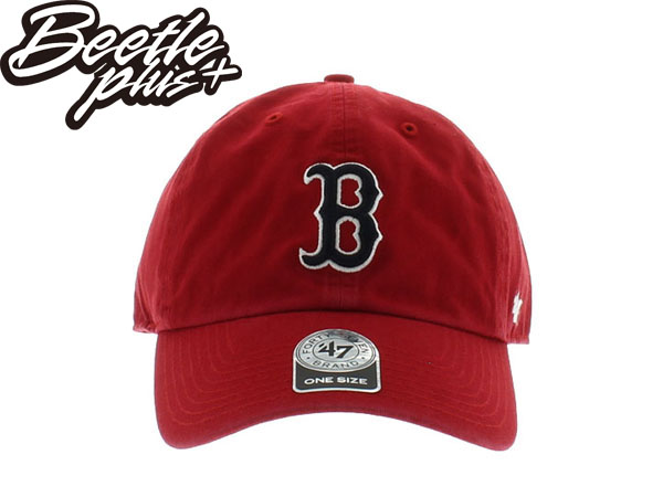 BEETLE 47 BRAND 老帽 DAD HAT 波士頓 紅襪 BOSTON RED SOX 大聯盟 MLB 紅黑