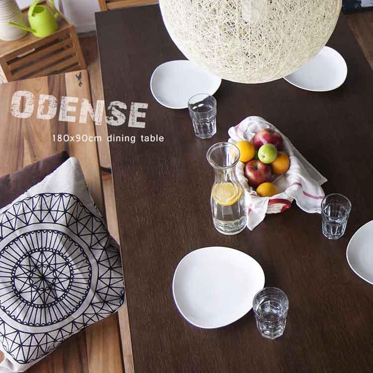 【日本林製作所】奧登斯餐桌/長桌/工業風/180x90(HT-407)