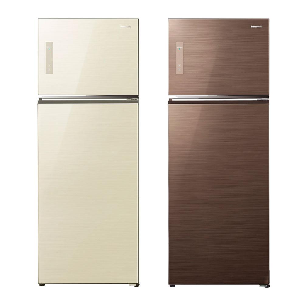 Panasonic 國際牌 NR-B427TG 玻璃變頻雙門冰箱(422L)★指定區域配送安裝★