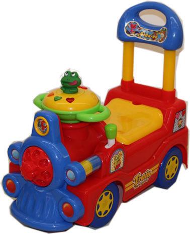 親親 火車學步車(紅) RT-422R【德芳保健藥妝】兒童學步車.滑步車.玩具車.碰碰車.助步車